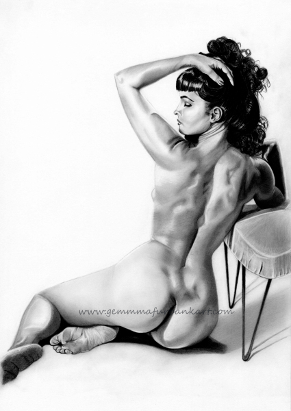 Bettie Page. £125